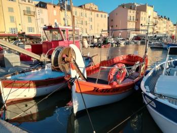 Saint-Tropez se situe à 25 km de la maison- Les bateaux verts font la navette entre Les Issambres et Saint-Tropez du mois d'avril à fin septembre en 25 minutes.