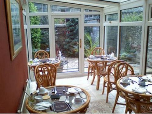 Enjoy a full Scottish breakfast in the conservatory dining room