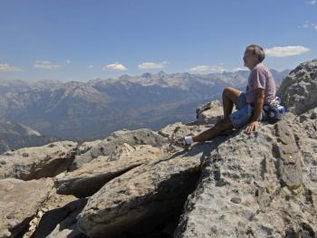 On Top of Mitchel Peak