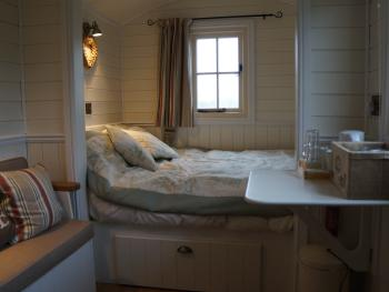 Bed In Shepherds Hut