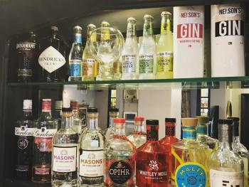 Our Ever Changing Gin Selection