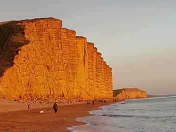 East Cliff at Sunset