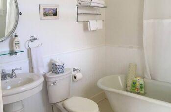 Rose Clawfoot tub