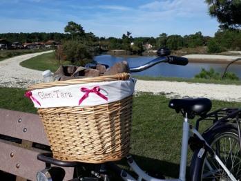 Les balades en vélo, avec ceux de la villa Glen-Tara ou les vôtres, sont incontournables.