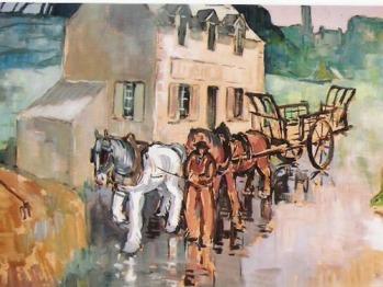 Peinture de la maison début 19éme siècle