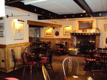 The King William IV, Hunstanton | Logfire in the Bar
