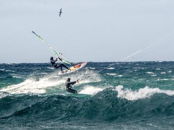 Surfing, Kite surfing and windsailing are popular sports on Fraserburgh Beach