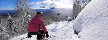 Gore Mountain is a 5 minute drive away