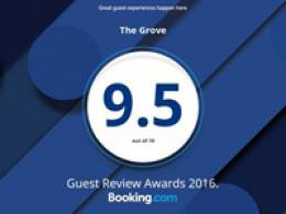 2016 Guest Review Award!