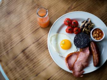 The Smugglers Rest - Motehoe - Miss Fea's Cafe Breakfast