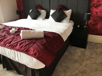 One of our deluxe rooms