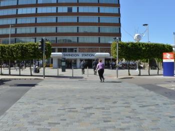Swindon Train Station - Opposite
