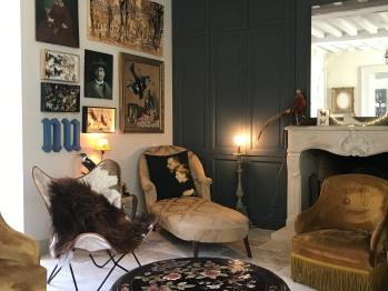 Salon villa Cambette