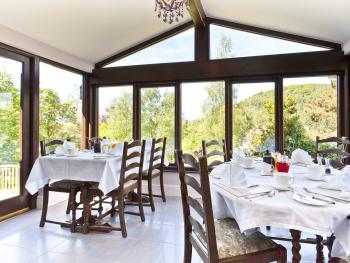 Conservatory Breakfast room with super views