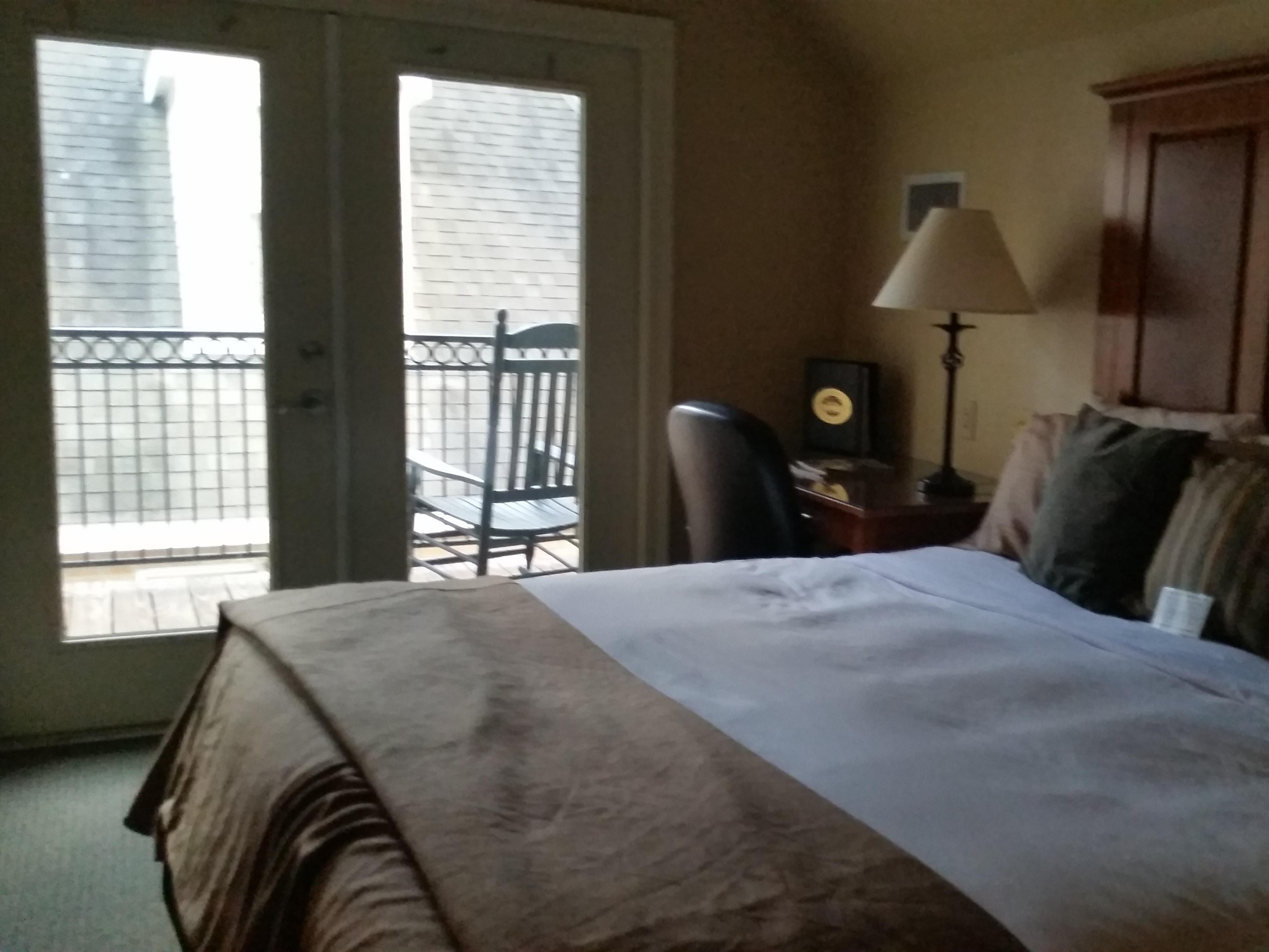 King-Private Bathroom-Standard-Balcony-107 Carriage House