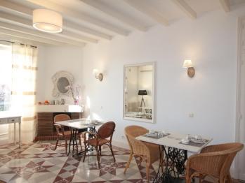 Espace Petit Déjeuner - Au Clos Paillé - Hôtel Charme & Caractère - La Roche Posay - Cure Thermale - Hébergements