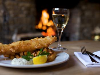 Our delicious Fish and Chips