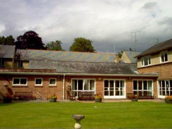 Tekels Park Guest House - Rear view of Guest House showing sun terrace