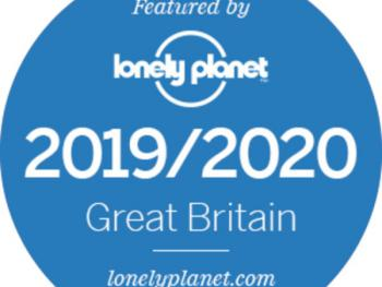 Featured in the new edition of Lonely Planet Great Britain travel guide for the 6th consecutive year.