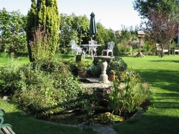 Part of the Langbury's garden