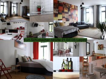 Apartment-Komfort-Eigenes Badezimmer-Kurt-Schumacher-Str. 21  - Basistarif