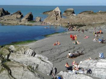 Tunnels Beach at Ilfracombe