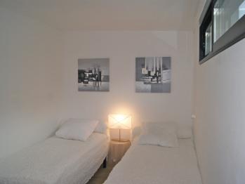 Le Lodge Blanc (chambre Twins)