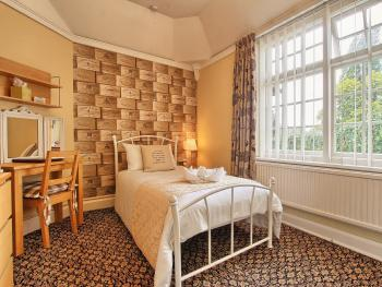 Single room-Standard-Ensuite with Shower-Garden View-Room 5 - Single Only