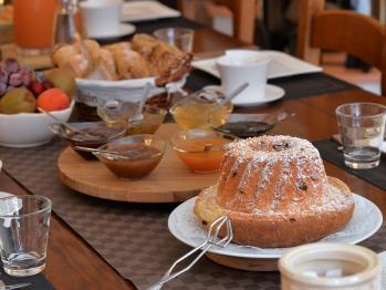 Petits déjeuners table d'hôtes