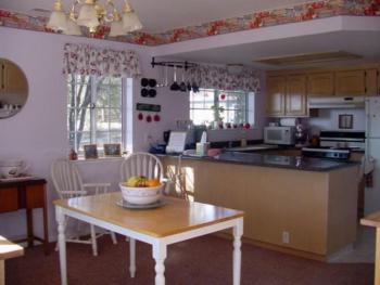 Kitchen & Buffet Area
