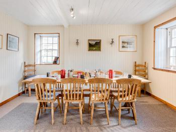 Dining room in Deanich Lodge