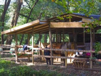 Coco Barn Wood Lodge -