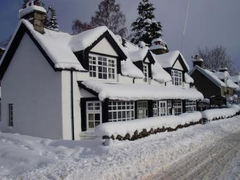 Carrmoor Guest House during the Winter