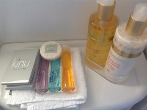 Quality complimentary toiletries for guest use