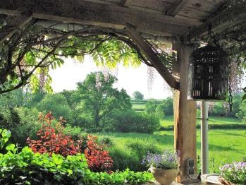 View from de veranda