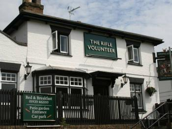 The Rifle Volunteer - Front of Property