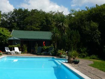 Swimming Pool and Cabin