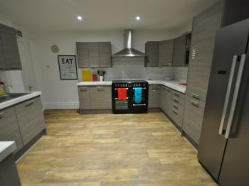 2nd Modern Fitted Kitchen for guests to use.