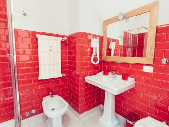Bagno della stanza Rossa