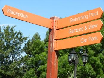 Walkway directions