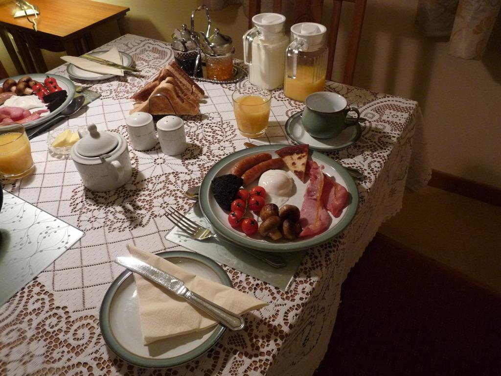 Delicious breakfasts using local produce