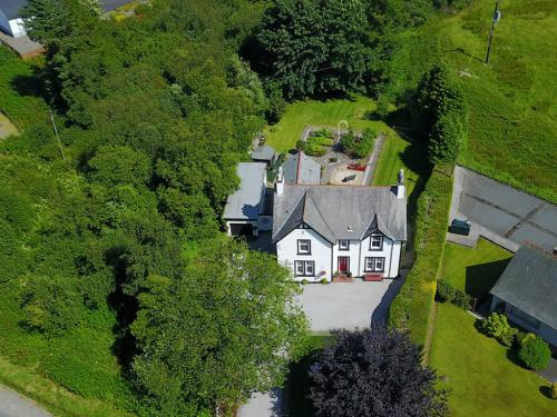 Aerial view of The Knowe