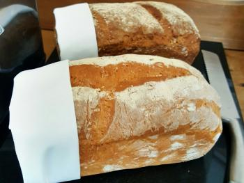 Home Made Breads, Local Flour - Breakfast Buffet