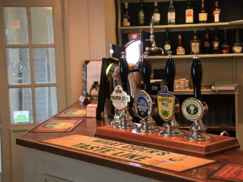 The White Horse Inn - Just a selection of real ale