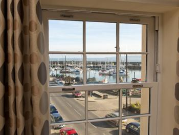 View of the Harbour from the Lounge