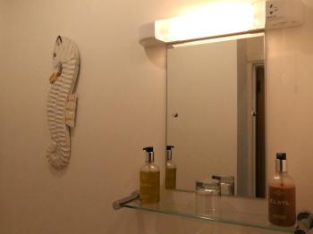 Room 7- Sink and Mirror