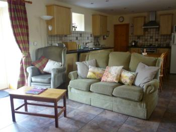 Holiday cottage lounge