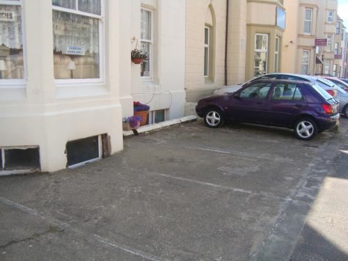 Parking on front forecourt