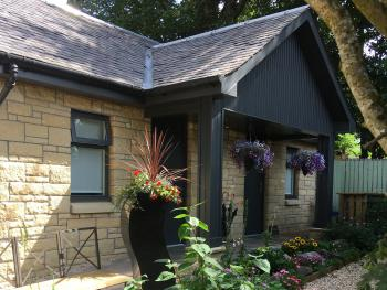 Custom build, bespoke accommodation in secluded surroundings.
