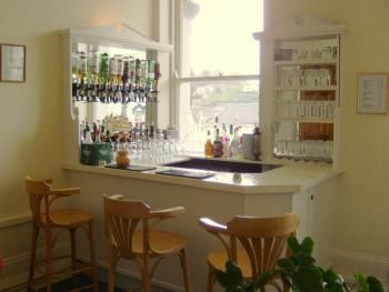 Enjoy a drink in our lounge bar